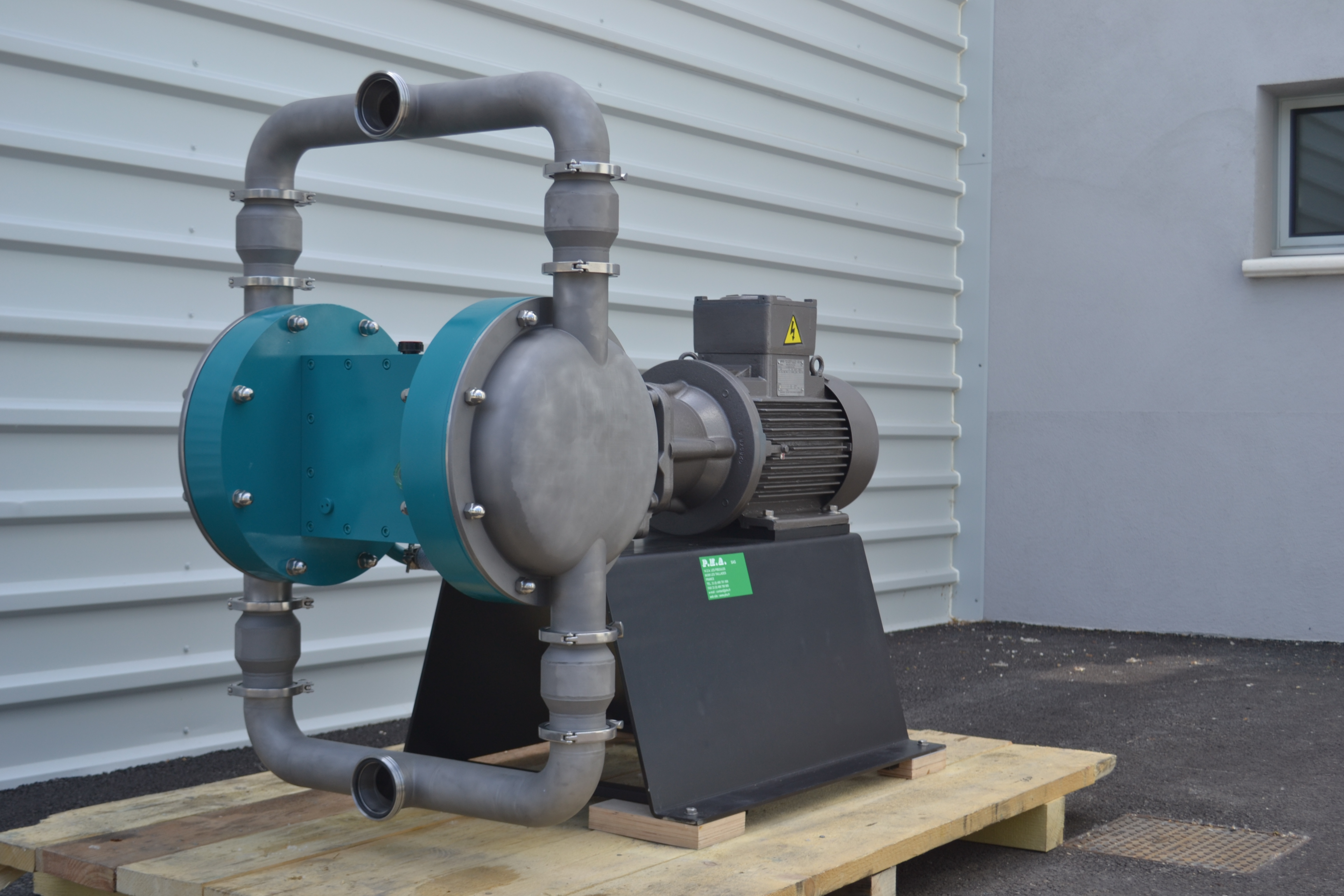 Pompe à membranes électrique DME 80