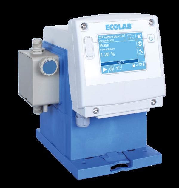 Metering dosing pumps ECOLAB