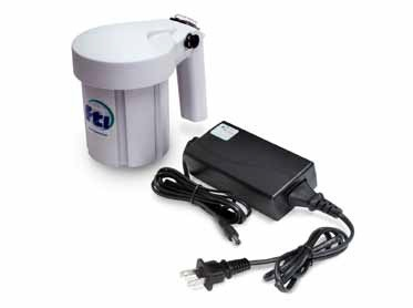 No Mains Power is No Problem for Rechargeable Drum Pump Motor