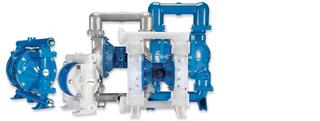 Pompes pneumatiques à double membrane
